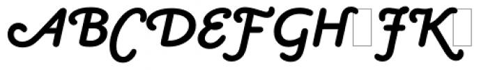 Claude Sans Bold Italic Alts Font UPPERCASE