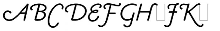 Claude Sans Italic Alts Font UPPERCASE
