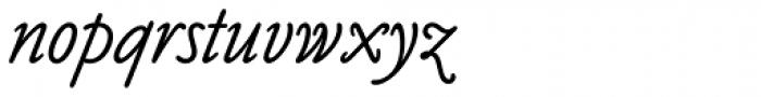 Claude Sans Italic Font LOWERCASE