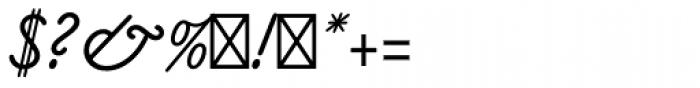 Claude Sans Std Italic Font OTHER CHARS