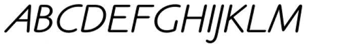 Claude Sans Std Italic Font UPPERCASE