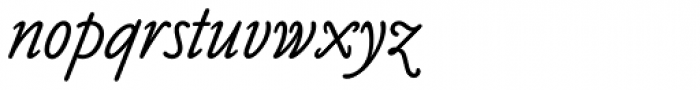 Claude Sans Std Italic Font LOWERCASE