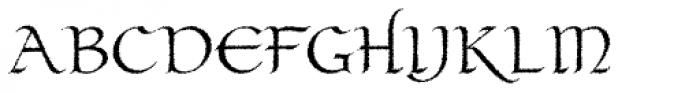 Claustrum Bleed Font UPPERCASE