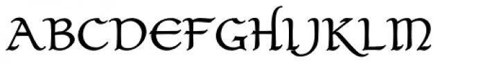 Claustrum Bold Font UPPERCASE