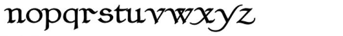 Claustrum Bold Font LOWERCASE