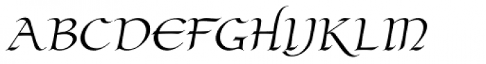 Claustrum Manuscript Font UPPERCASE