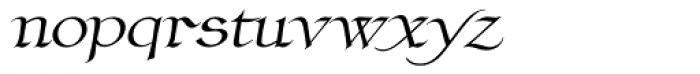 Claustrum Manuscript Font LOWERCASE