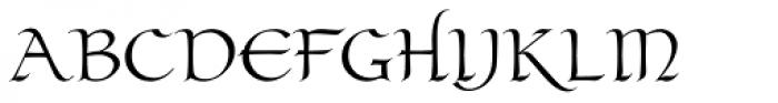 Claustrum Regular Font UPPERCASE