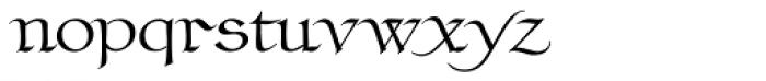 Claustrum Regular Font LOWERCASE