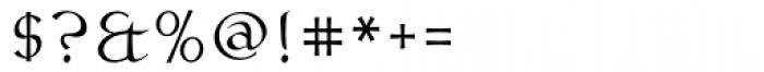 Claustrum Swash Font OTHER CHARS