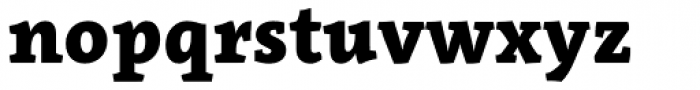 Clavo Black Font LOWERCASE