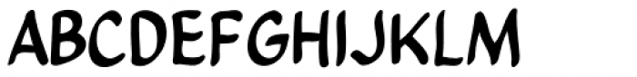 Clean Cut Kid Font UPPERCASE