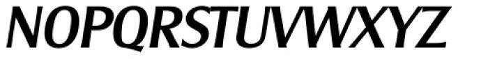 Clear Gothic Serial Medium Italic Font UPPERCASE