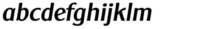 Clear Gothic Serial Medium Italic Font LOWERCASE