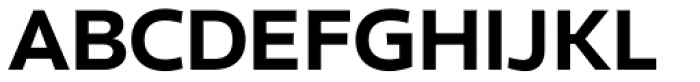 Clear Sans Black Font UPPERCASE