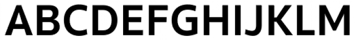 Clear Sans Screen Bold Font UPPERCASE