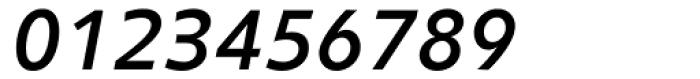 Clear Sans Screen Medium Italic Font OTHER CHARS