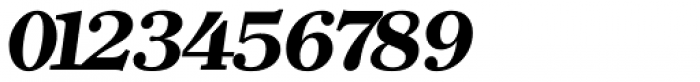 Clearface Serial ExtraBold Italic Font OTHER CHARS
