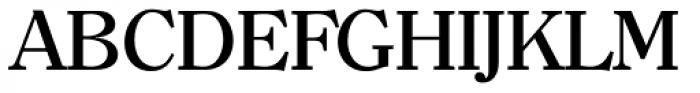 Clearface TS Medium Font UPPERCASE