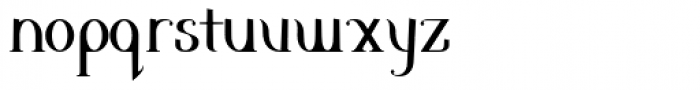 Clementine Font LOWERCASE