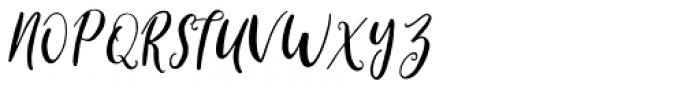Cleverda Regular Font UPPERCASE