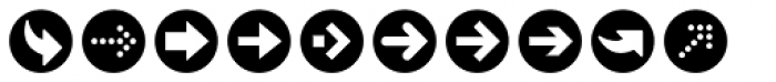 ClickBits Arrow Bullets 1 Font OTHER CHARS