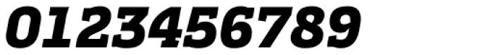 Cline Slab Black Italic Font OTHER CHARS