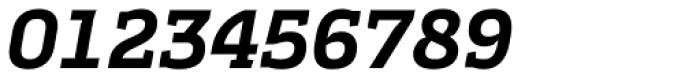 Cline Slab Bold Italic Font OTHER CHARS