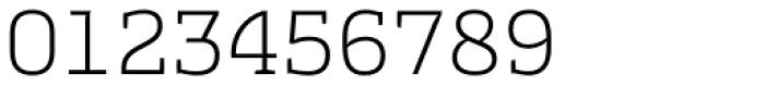Cline Slab Light Font OTHER CHARS