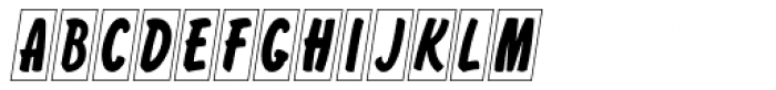 Cling Vinyl Clear JNL Font UPPERCASE