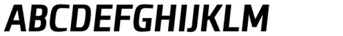 Clio Condensed Heavy Italic Font UPPERCASE