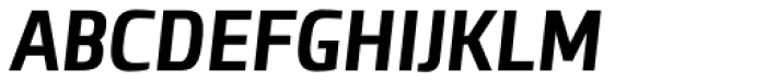 Clio Condensed Heavy Oblique Font UPPERCASE