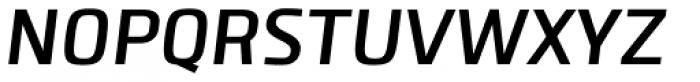 Clio SemiBold Oblique Font UPPERCASE