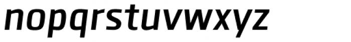 Clio SemiBold Oblique Font LOWERCASE