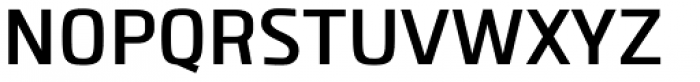 Clio SemiBold Font UPPERCASE