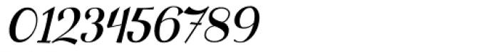 Clipper Script Fat Slanted Font OTHER CHARS