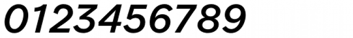 Clobber Grotesk Medium Italic Font OTHER CHARS