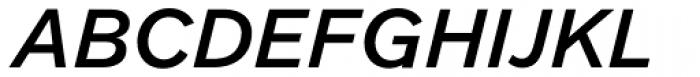 Clobber Grotesk Medium Italic Font UPPERCASE