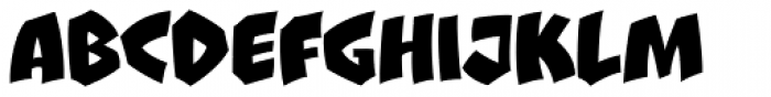 Clobberin Time Smooth Font LOWERCASE