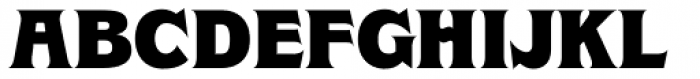 Clockmaker Black Font UPPERCASE