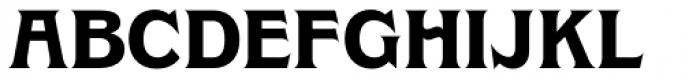 Clockmaker Bold Font UPPERCASE