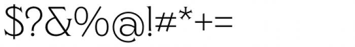 Clockmaker Light Font OTHER CHARS