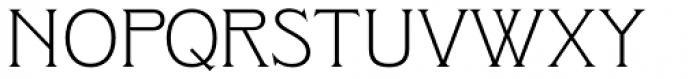 Clockmaker Light Font UPPERCASE