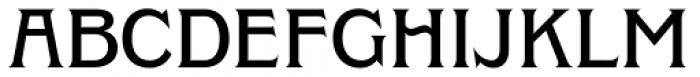Clockmaker Medium Font UPPERCASE