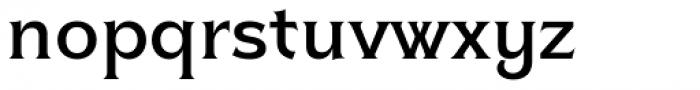 Clockmaker Medium Font LOWERCASE