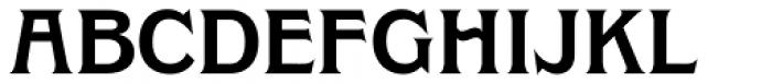 Clockmaker Semi Bold Font UPPERCASE