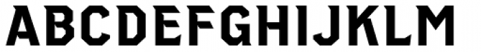 Clockpunk Font UPPERCASE