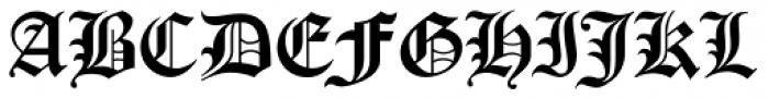 Cloister Black CT Font UPPERCASE