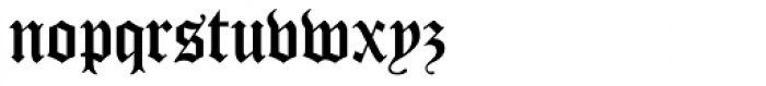 Cloister Black Font LOWERCASE