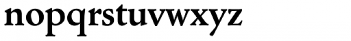 Cloister Old Style SB Bold Font LOWERCASE